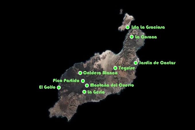 Canaries : Lanzarote, l le aux volcans - m